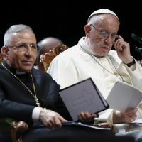 Pope Francis, Lutheran Chief, Urge Christians to Defend the Rights of Moslem Refugees who want to conquer Protestant Europe